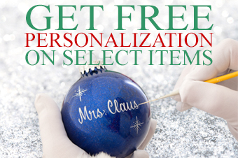 Get free personalization select items